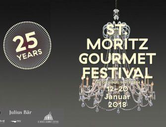 ST. MORITZ GOURMET FESTIVAL 2018