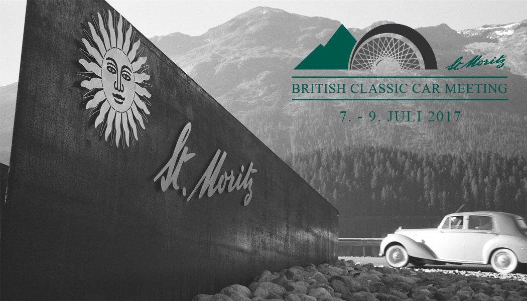 BRITISH CLASSIC CAR MEETING St. Moritz @ St. Moritz Tourismus