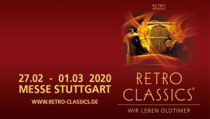 RETRO-CLASSICS 2020 @ Landesmesse Stuttgart GmbH