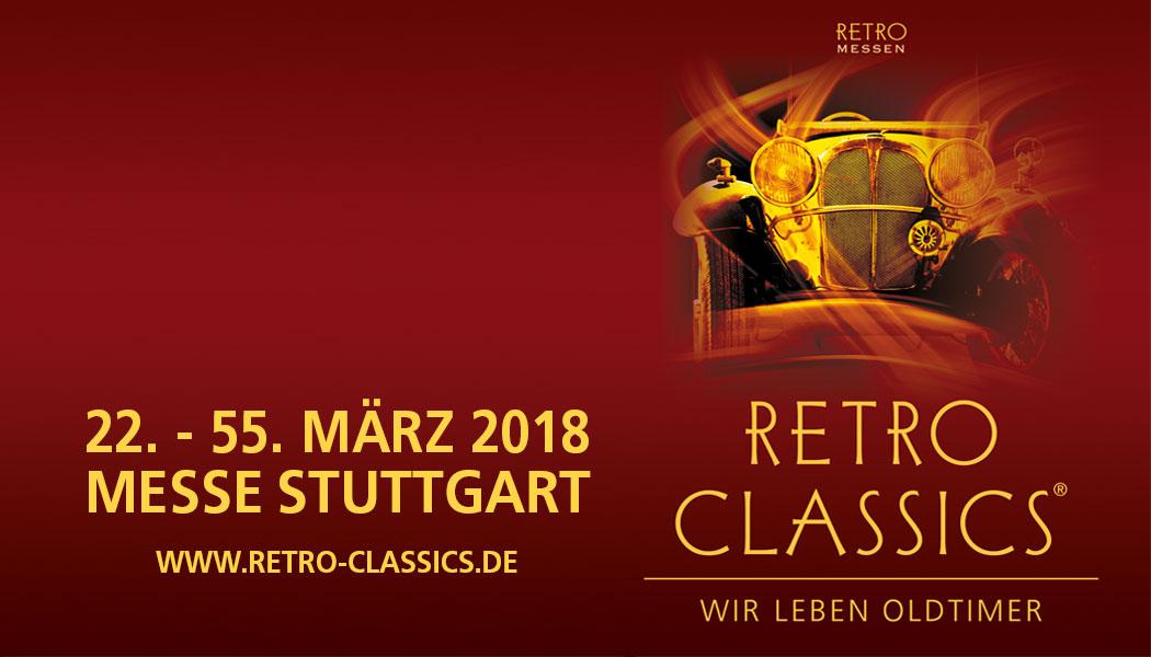 RETRO CLASSICS 2018 @ Landesmesse Stuttgart GmbH