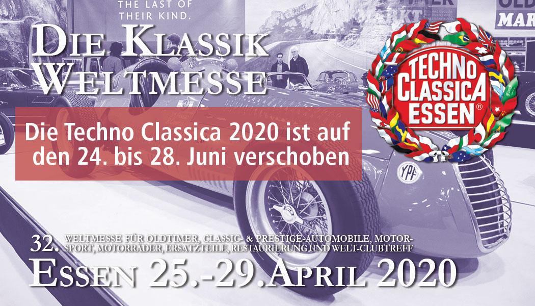 TECHNO-CLASSICA ESSEN 2020 @ MESSE ESSEN GmbH